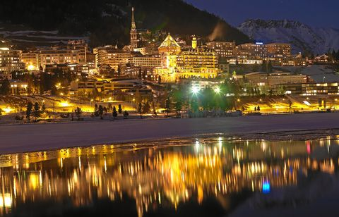 St. Moritz by night